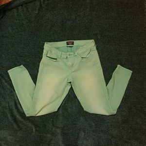 American Eagle Outfitters Pants - American Eagle Hi-Rise Jeggings Crop 6 Regular